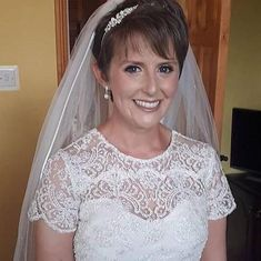 real bride wears rochelle earrings Wedding Looks, Wedding Bride, Wedding Day, Big Day, Brides, Lace, Earrings, Women, Fashion