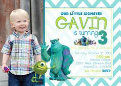 25d4a1bcc34d8bc5e064767a1bfd23a0 monsters inc invitations monster party monster inc birthday invitation (girl) monsters,Monsters Inc Birthday Invitations