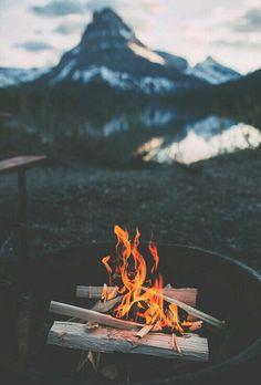 #nature #mountain #fire #ice #sky
