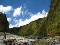 Traversing Mt Pinatubo, Philippines
