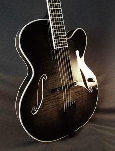 Deluxe Custom Translucent Blackburst — at Benedetto Guitars