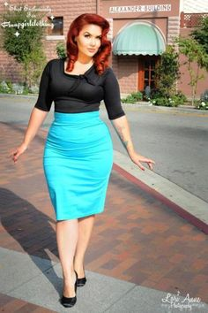 Vintage plus size rockabilly fashion style outfits ideas 106