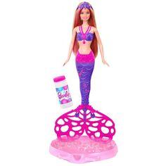 Juguete BARBIE SIRENA BURBUJAS MAGICAS de Mattel Precio 20,26€ en IguMagazine #juguetesbaratos