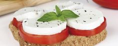 Koolhydraatarme tosti met Mozzarella & Tomaat 7KH