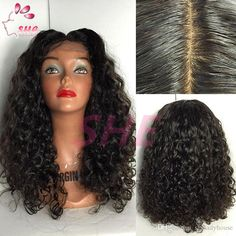 Glueless Full Lace Wig Curly Human Hair Brazilian Virgin Full Lace Curly Human Hair Wigs For Black Women Free Ship Online with $72.88/Piece on Sheladyhouse's Store   DHgate.com