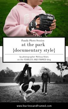 Running a Family Photo Session at a Park Documentary Style