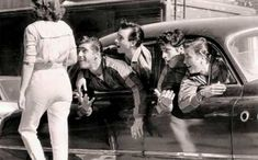 1950's greaser   1950s Greasers: Styles, Trends, History & Pictures