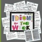 There are 60 Idiom Posters to choose from in this unit that can serve as an ongoing learning tool in your classroom.  Each Idiom poster includes a ...