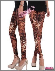 Sprint Tiger Printed Women Leggings LML0059 Cheap Price Drop Shipping Free Shipping