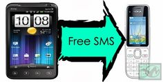 Best way to send free messages/sms to people who are offline