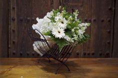 Ramo de Flores Silvestres en tono Blanco