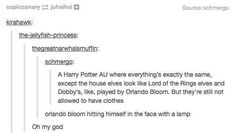"When they came up with this brilliant alternative casting suggestion. | 26 Times Tumblr Had Serious Questions About ""Harry Potter"""
