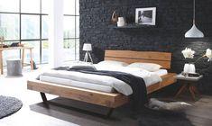 Contemporary Bedroom Furniture, Bedroom Furniture Design, Platform Bed Mattress, Oak Beds, Under Bed Storage, Bed Design, Solid Oak, Home Decor, Penthouse Apartment