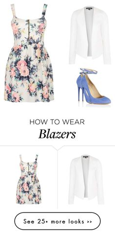 """""""simple outfit for a walk"""" by eleinaa on Polyvore featuring Cameo Rose, Aquazzura and Topshop"""
