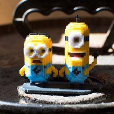 Minions...  #leblox #pixelart #3Dprinting #tribute #fanart #Minions