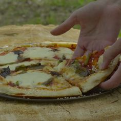 Never again be lost in the woods without pizza.