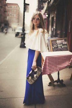 Shop this look on Kaleidoscope (skirt, shirt, sunglasses, clutch)  http://kalei.do/WjJ6cySIvS8Xzzcz