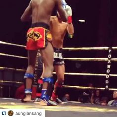 #Repost @aunglansang with @repostapp ・・・ Julian 2015 WKA open champ came to fight @keemaandiop! #crazy88mma #MuayThai #lionfight #7thday #parisjetaime #kickboxing #adventist #religiousjonjones