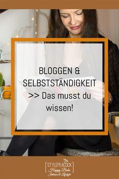 Du bist selbsständig oder möchtest es werden? Du bloggst als Hobby, nebenberuflich oder sogar als Hauptberuf? Hier findest du die besten Tipps rund um Selbstständigkeit, freiberufliches Arbeiten, technische News fürs Bloggen, Rat zur Steuer, Versicherung und vieles mehr! #bloggen #soloselbstständig #selbständigkeit #selbstständigkeit #freiberufler #blogger #blogtips #blogtipps #bloggertipps #wordpresstipps #ksk Lifestyle Blog, Need To Know, German, Thankful, Hacks, Social Media, Marketing, Interior, Instagram
