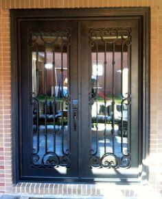 Simple double door design with classy look