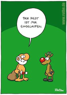Very funny by Ralph # Ruthe. Humor Mexicano, Funny Images, Funny Pictures, Christmas Fun, Xmas, Very Funny, Morning Humor, Winter Kids, Winter Theme