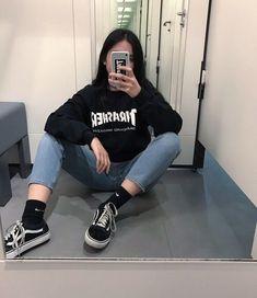 Ulzzang girl // trasher