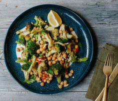 welcome to tasty Thursday!!....WITH CHAR-GRILLED BROCCOLI WITH CHICKPEAS, ALMONDS, LEMON AND CHILLI... A definite platter contender......In this recipe, char-grilling broccoli gives this modest brassica an exciting, more-ish edge. Push the boundaries and give the broccoli some good colour until it borders on being burnt in some parts.https://www.facebook.com/GranddadsCooking
