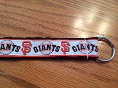 MLB Giants wristlet on Etsy, $4.50