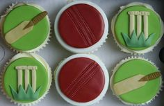 Cricket Cupcake Toppers