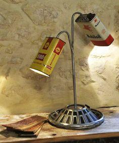 """LAMPE REF ' YACCO """" DECO LOFT INDUSTRIEL ATELIER 98,90 EUROS EN VENTE SUR http://www.lylylacomtesse.fr/"""