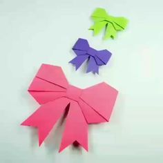 Fashion & Beauty Tips – Amazing Paper Craft – Origami Diy Origami, Origami Simple, Useful Origami, Easy Paper Crafts, Paper Crafts Origami, Fun Crafts, Paper Butterflies, Paper Flowers Diy, Paper Bows