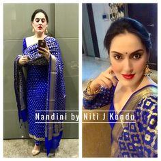 Indian Salwar Suit, Indian Suits, Designer Punjabi Suits, Indian Designer Wear, Indian Wedding Wear, Indian Wear, Dress Indian Style, Indian Dresses, Banarsi Suit