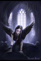 Gothic Angel by ~pixievamp on deviantART