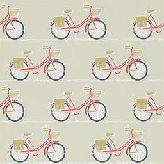 Cykel vintage bike wallpaper from Scion