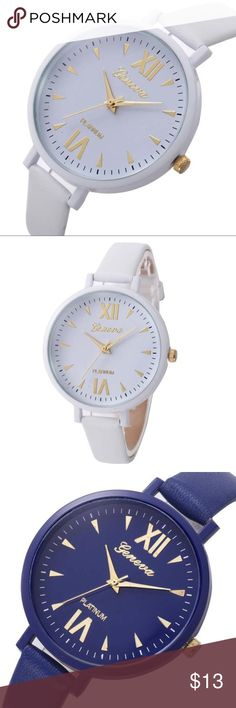 BLACK FRIDAY SALE Slim watches are super cute! Summer/Fall colors look very chic. Accessories Watches