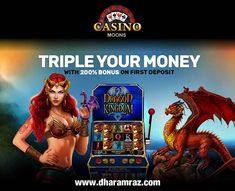 Fuel your Friday with a fantastic offer! Play Casino Moons at dharamraz and get a chance to triple your money with 200% bonus on first deposit.  Play Now https://bit.ly/2rpIBEF #CasinoMoons #onlinecasinogames #onlinecasinobonus #onlinecasino #slots #Dharamraz