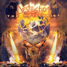 The Antichrist is the seventh album by German thrash metal band Destruction, released in 2001 through Nuclear Blast. Destruction Band, Hard Rock, Band Photography, Metal Albums, Heavy Metal Music, Best Albums, Music Pictures, Metal Artwork, Thrash Metal