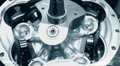 According to Duke Engineering, their axial engine is the most efficient and lightest engine you can put in boats, light aircrafts, and generators—the mechanical engine of the (near) future! Maybe. I don't know if their claims are true and I don't really care. I just love watching it in action in this eternal gif.