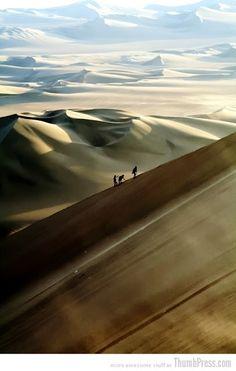 "Nazca Desert, Peru*** going through deserts & mountains and always reborn unto new higher strength_ Elaya Gaia .................... #GlobeTripper® | https://www.globe-tripper.com | ""Home-made Hospitality"" | http://globe-tripper.tumblr.com/"
