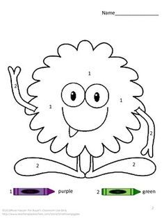 Early Learning Activity: Make a Monster: Educational & Fun