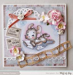 Whiff of Joy - Tutorials & Inspiration: Make a Card Monday