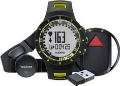 Suunto mens QUEST YELLOW RUN PACK Athletic Watches