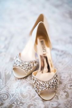 Pretty Nude Wedding Shoes To Wear With Any Dress ❤ See more: http://www.weddingforward.com/nude-wedding-shoes/ #weddings