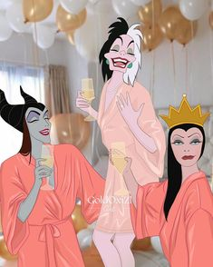 "Оксана🦄 Золотарёва Пащенко on Instagram: ""Cruella's hen-party 💃 #bacheloretteparty #cruella #cruelladevil #maleficent #evilqueen #стервелла #круэлла #малефисента #злаякоролева…"""