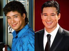 Mario Lopez... looks the same, just like Dick Clark.