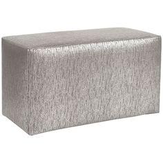 Howard Elliott Glam Pewter Universal Bench Cover  C130-237