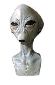 the dreaded one mask halloween mask click image twice see a larger selection of scary masks at httpcostumerivercomproduct categorysca - Alien Halloween Masks
