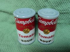 One of my own collection - Campbells Tomato Soup Salt & Pepper Shakers