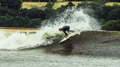 VIDEO: Surf's up on man-made Wavegarden - Waves taller than 6ft high! #surfing