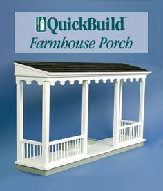 QuickBuild Farmhouse Porch Kit